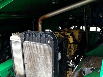 Marc's on the Glass power washing heavy equipment - diesel engine and radiator for maintenance - mechanical in Richmond, VA