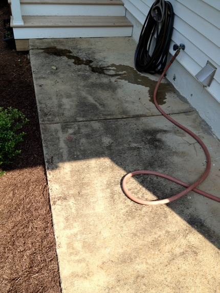 Concrete marc 39 s on the glass 804 380 6601 for Cement pressure washer